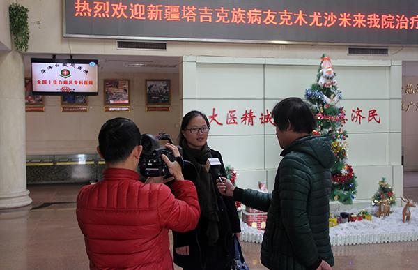 采访爱心支教老师张晓庆
